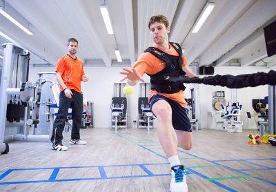 Athletiktraining mit Oliver Muelbredt