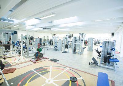 Fitnessbereich von pro atheltics